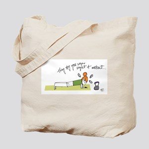Commit to Fit Tote Bag