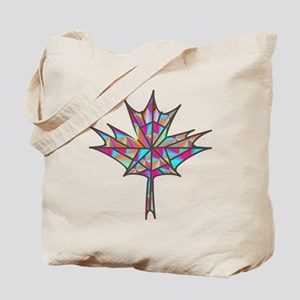 Maple Leaf Mosaic Tote Bag