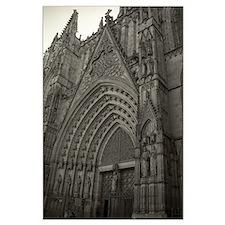 La Catedral Barcelona Large Poster