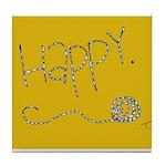 Simply Happy Tile Coaster