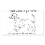 Wiener Play Sticker