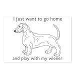 Wiener Play Postcards (Package of 8)