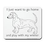 Wiener Play Mousepad