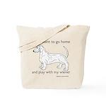Wiener Play Tote Bag
