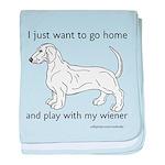 Wiener Play baby blanket