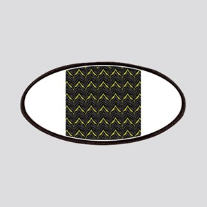 Chic Black Zebra Pattern 4Gigi Patch