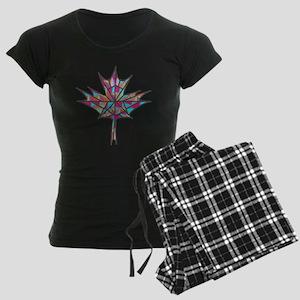 Maple Leaf Mosaic pajamas