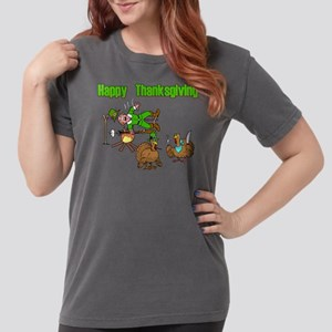 Funny Thanksgiving Womens Comfort Colors Shirt