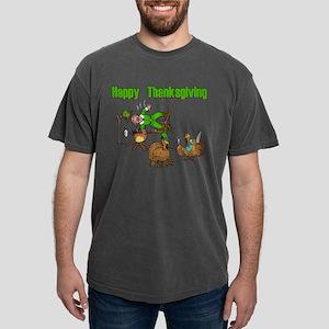 Funny Thanksgiving Mens Comfort Colors Shirt