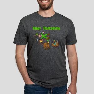 Funny Thanksgiving Mens Tri-blend T-Shirt
