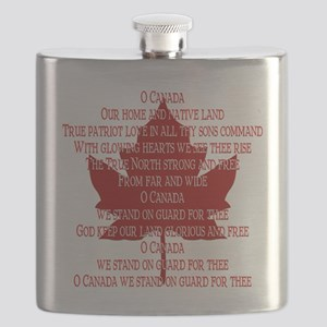 Canada Anthem Souvenir Flask