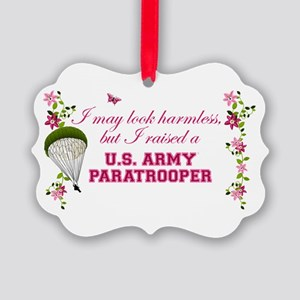 I Raised A Paratrooper Picture Ornament