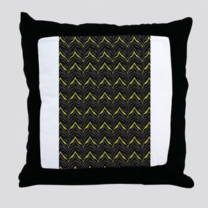 Chic Black Zebra Pattern 4Gigi Throw Pillow