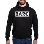 BARC Logo Black and White Hoodie