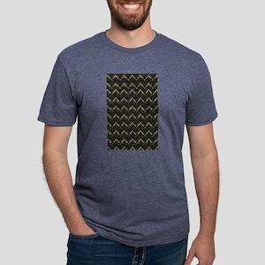 Chic Black Zebra Pattern 4Gigi T-Shirt