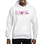 BARC Logo in Pink Hoodie