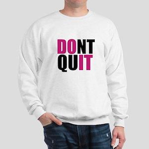 Do It, Athletic Humor Sweatshirt