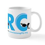 BARC Logo in Blue Mugs