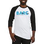 BARC Logo in Blue Baseball Jersey