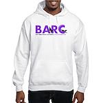 BARC Logo in Purple Hoodie