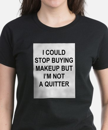 Buying Makeup T-Shirt