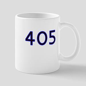 405 blue Mugs