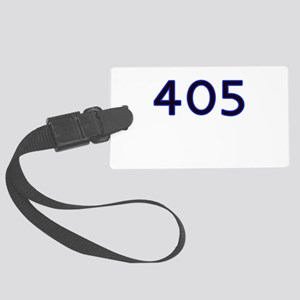 405 blue Luggage Tag