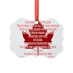 Canada Anthem Souvenir Ornament
