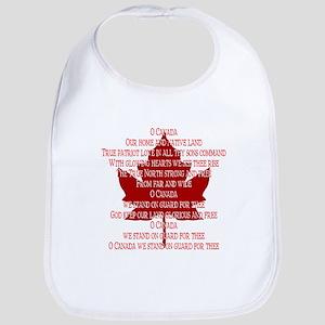 Canada Anthem Souvenir Bib