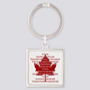 Canada Anthem Souvenir Keychains