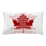 Canada Anthem Souvenir Pillow Case