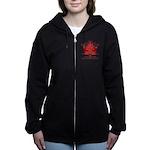 Canada Anthem Souvenir Women's Zip Hoodie