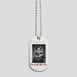Go With Florence Nightingale! Dog Tags
