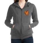 Canada Maple Leaf Souvenir Women's Zip Hoodie