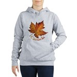 Canada Maple Leaf Souvenir Women's Hooded Sweatshi