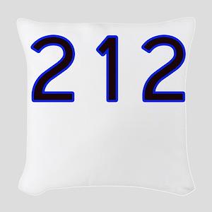 212 Woven Throw Pillow