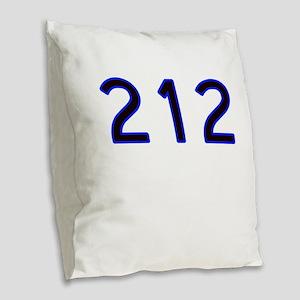 212 Burlap Throw Pillow