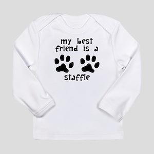 My Best Friend Is A Staffie Long Sleeve T-Shirt