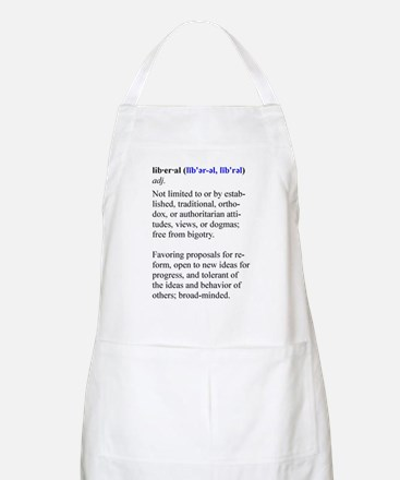 What is a Liberal? BBQ Apron