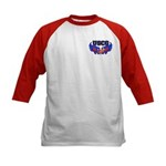 USCG Heart Flag Kids Baseball Jersey