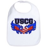 USCG Heart Flag Bib