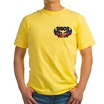USCG Heart Flag Yellow T-Shirt