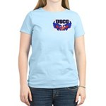USCG Heart Flag Women's Light T-Shirt
