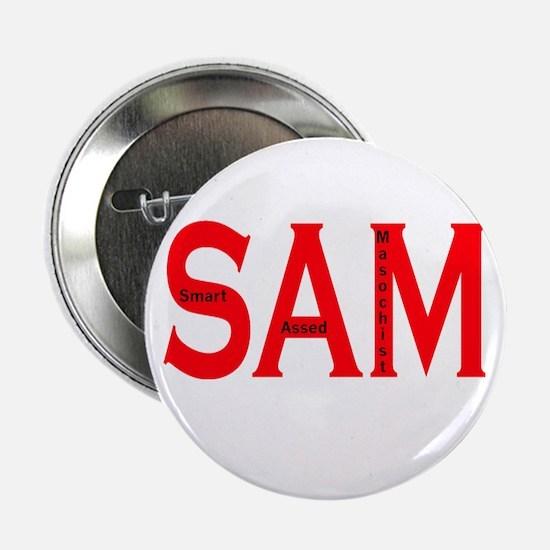 Smart Assed Masochist Button
