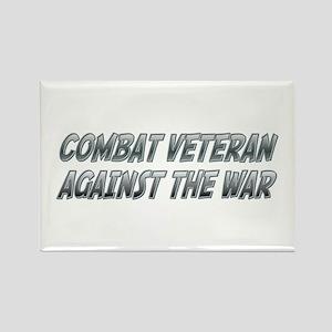 Combat Vet Rectangle Magnet