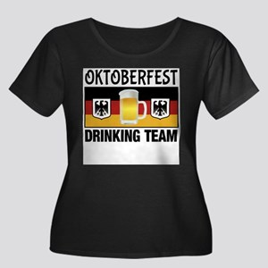 Oktoberfest Drinking Team Plus Size T-Shirt