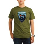 USS NICHOLAS Organic Men's T-Shirt (dark)