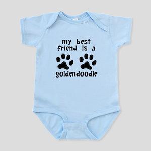 My Best Friend Is A Goldendoodle Body Suit