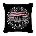 Fallen Heroes Woven Throw Pillow