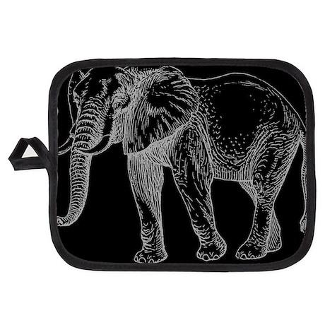 African Elephant Potholder